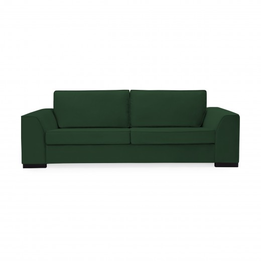 Canapea 3 locuri Bronson Emerald Green