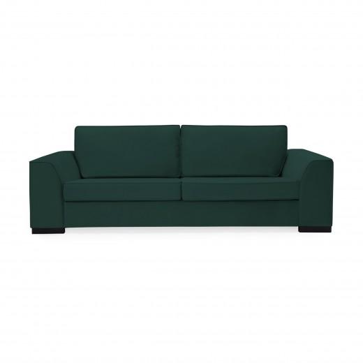 Canapea 3 locuri Bronson Petrol Green
