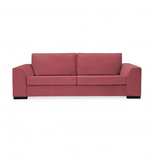 Canapea 3 locuri Bronson Rusty Red