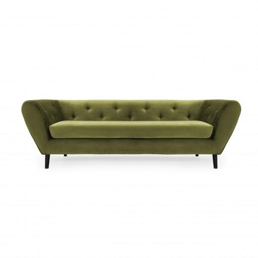 Canapea 3 locuri Etna Olive Green