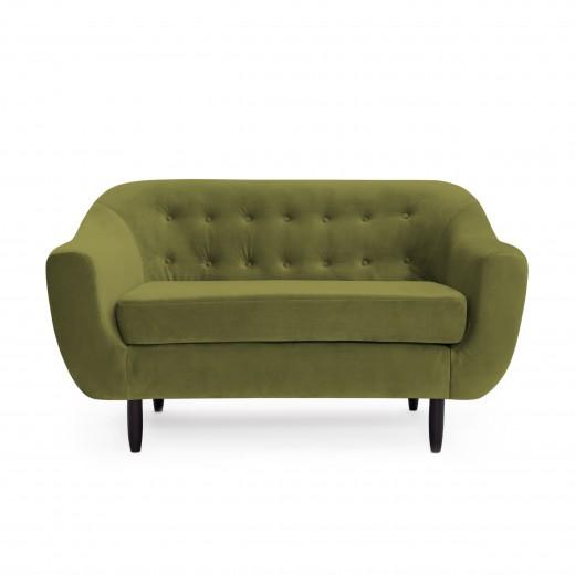 Canapea 2 locuri Laurel Olive Green