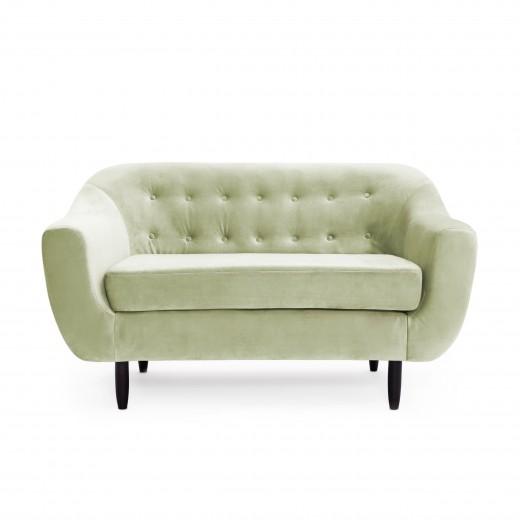 Canapea 2 locuri Laurel Green Mint