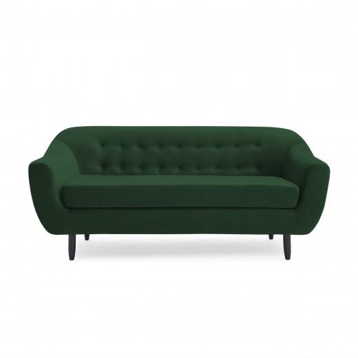 Canapea 3 locuri Laurel Emerald Green