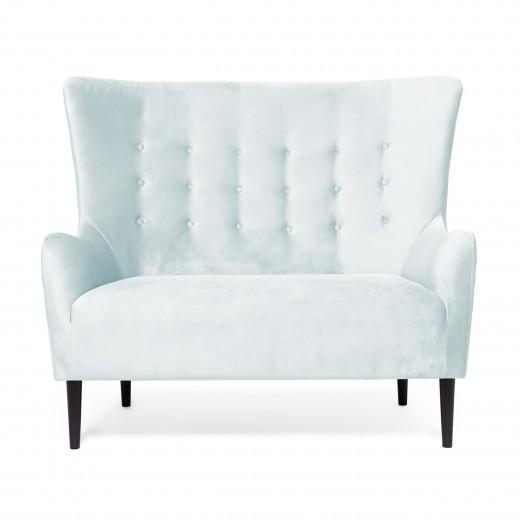 Canapea Fixa 2 locuri Blair Blue Grey