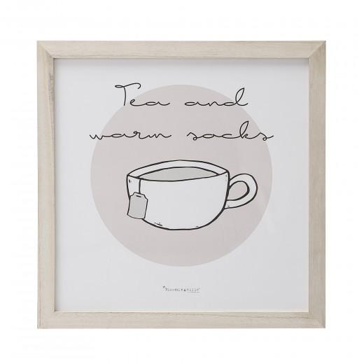 Tablou Tea, L35xH35 cm