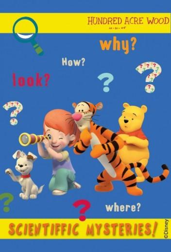 Covor Disney Kids Tigger & Pooh Blue 607, Imprimat Digital