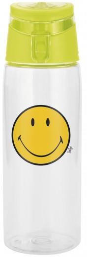 Sticluta pentru copii Smiley Bootle Transparent/Verde, 750 ml