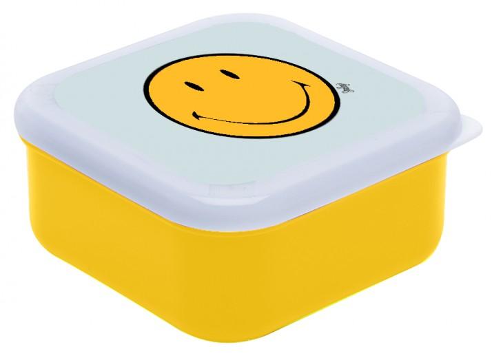 Cutie pentru sandwich Little Square Galben/Alb, 10,5x10,5 cm