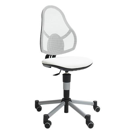 Scaun de birou pentru copii Deluxe White
