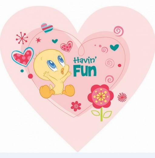 Covor Disney Kids Tweety Love 748, Imprimat Digital