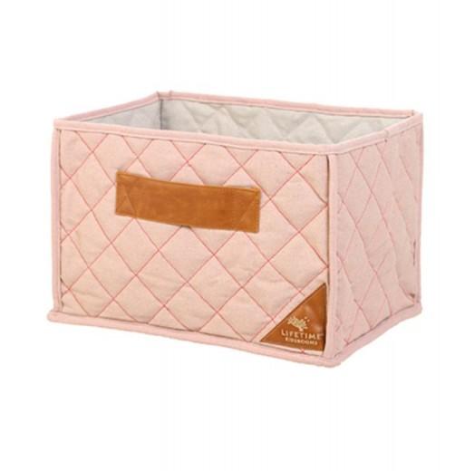 Cos depozitare si organizare Pink