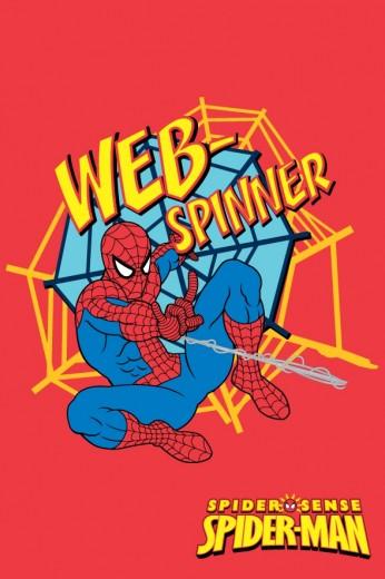 Covor Disney Kids Spider Man Web Spinner 88423, Imprimat Digital