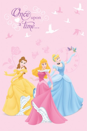 Covor Disney Kids Princess 88542 Doves, Imprimat Digital