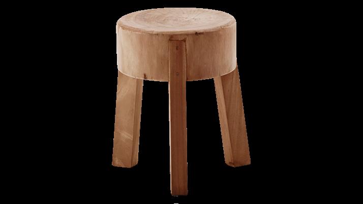 Scaun din lemn de tec Roger Small
