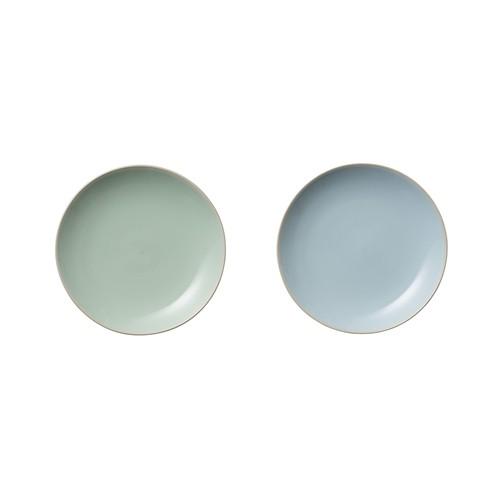 Set 2 farfurii Olivia Blue/Mint