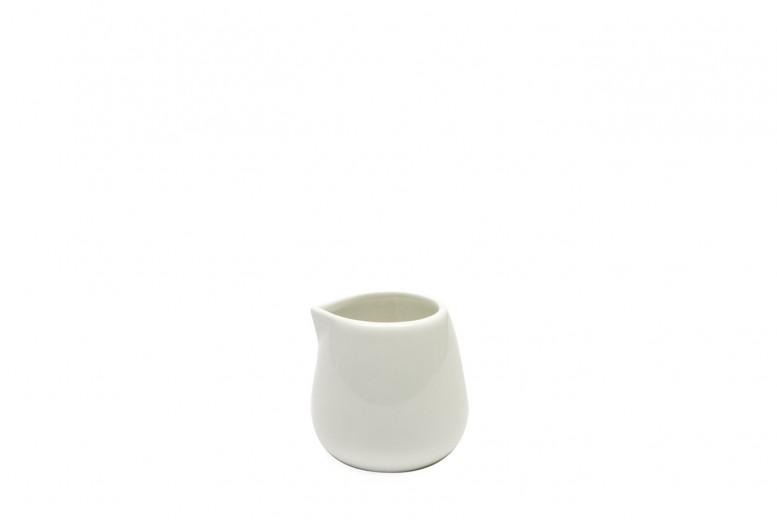 Set 12 Latiere White Basics Milk Jug Alb, Portelan, 100 ml