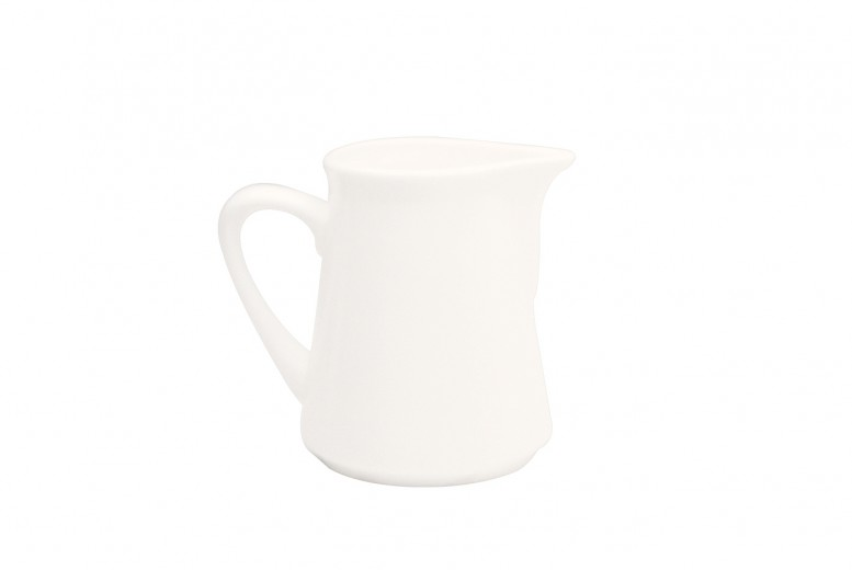Set 12 Latiere White Basics Straight Alb, Portelan, 80 ml