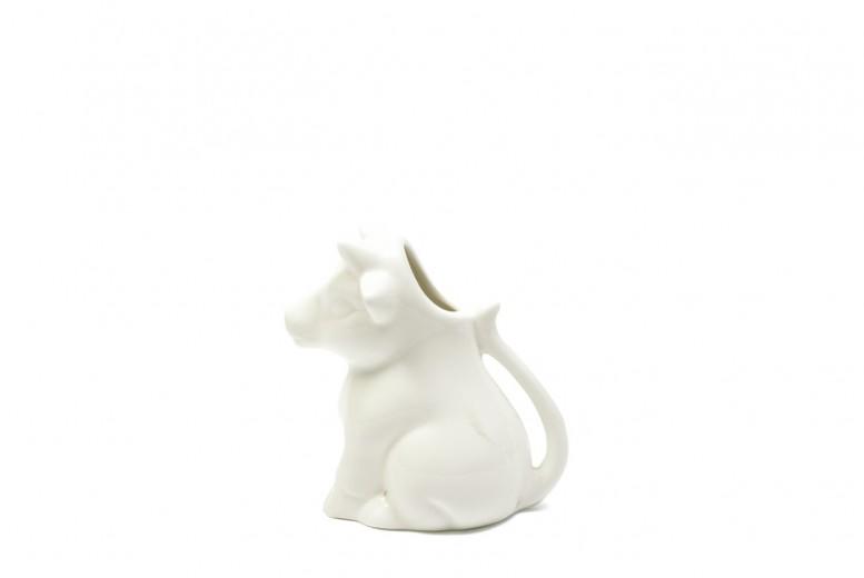 Set 4 Latiere White Basics Milk Jug Alb, Portelan, 200 ml