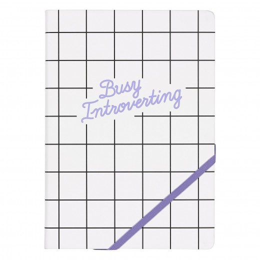 Agenda A5 Busy Introverting YST045, 192 pagini, Wild & Wolf