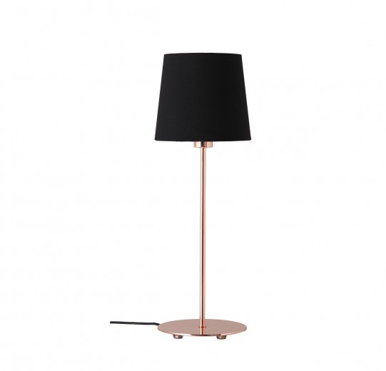 Lampa de birou Amalie Copper/Black