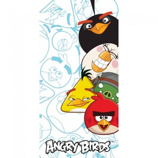 Prosop pentru copii Cotton Angry Birds AB-9001