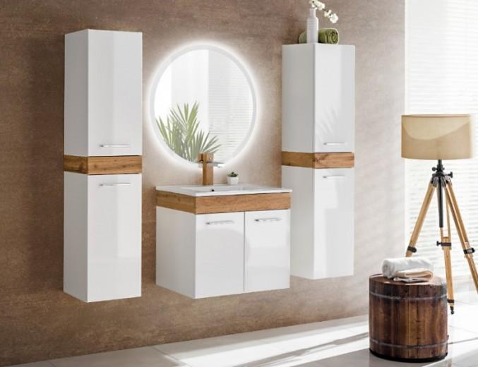 Set Mobilier pentru baie, 5 piese, Aria