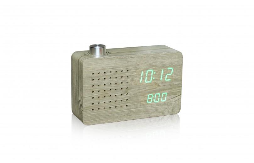 Ceas Radio Click Clock Ash