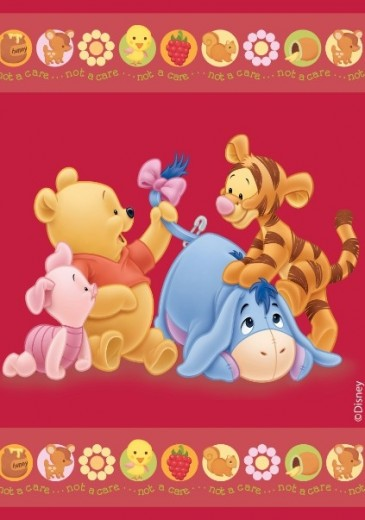 Covor Disney Kids Baby Pooh, Imprimat Digital -200 x 140 cm