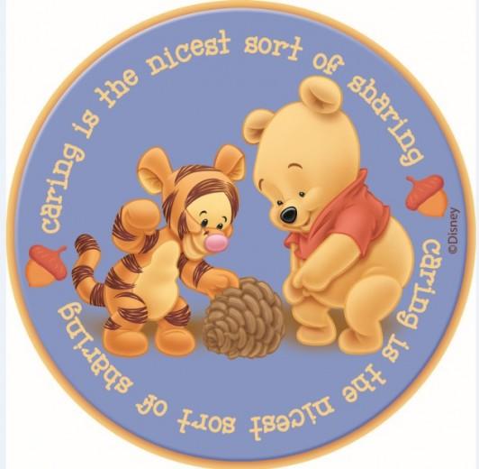 Covor Kids Baby Pooh Blue 407, Imprimat Digital