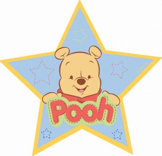 Covor Kids Baby Pooh Steluta 408, Imprimat Digital