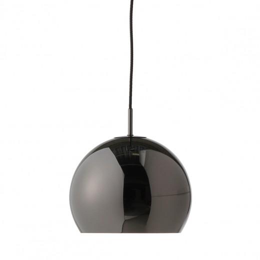 Lustra Ball Black Chrome Glossy, Ø 25 cm
