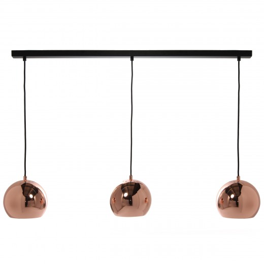 Lustra Ball Track Copper Glossy
