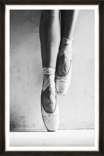 Tablou Framed Art Ballet Pumps I