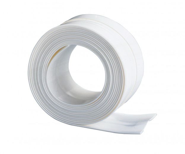 Banda lata adeziva etansare pentru baie, din plastic, Sealing Tape Large Alb, L3,5 M