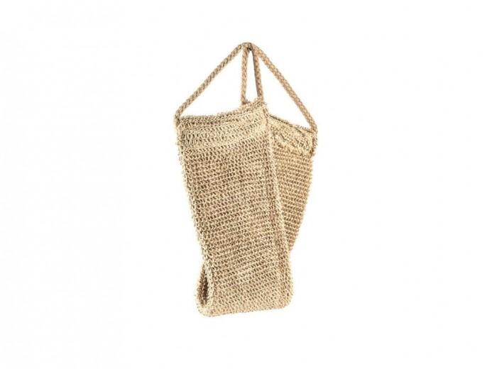 Banda pentru exfoliere, din canepa Scrubber10926 Natural, L50xl11xH1,5 cm, Villa Collection