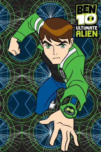 Covor Disney Kids Ben 10 Alien 73, Imprimat Digital