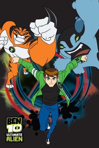 Covor Disney Kids Ben 10 Black 74, Imprimat Digital