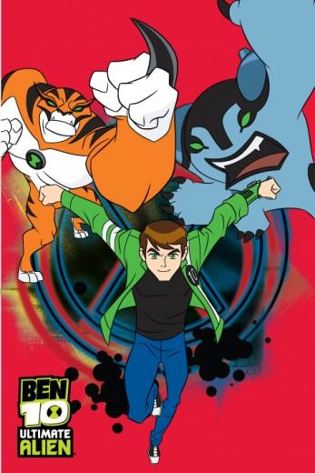 Covor Disney Kids Ben 10 Red 75, Imprimat Digital