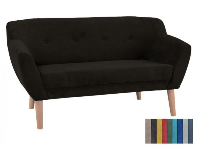 Canapea tapitata cu stofa Bergen-2 Brown