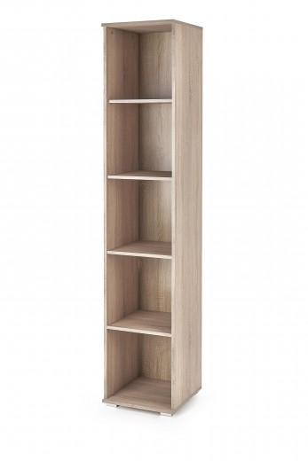 Biblioteca din pal Lima SL-1 Stejar Sonoma, l40xA40xH200 cm
