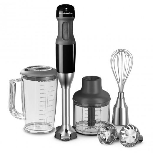 Blender vertical multifunctional KitchenAid-Negru