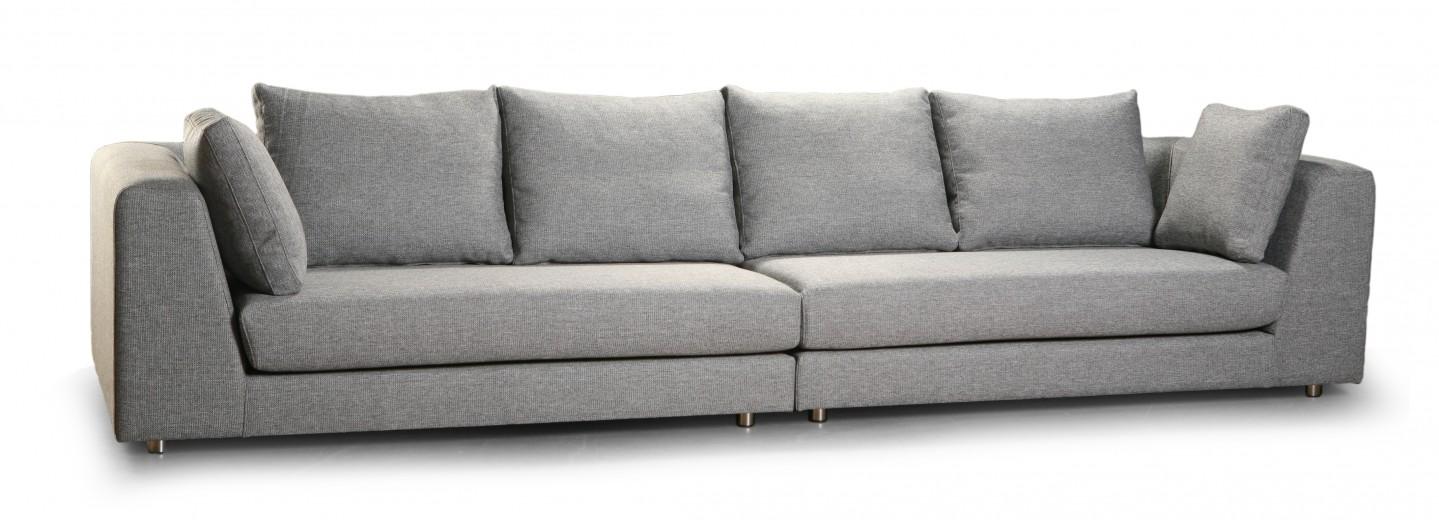 Canapea fixa 4 locuri Boden Grey