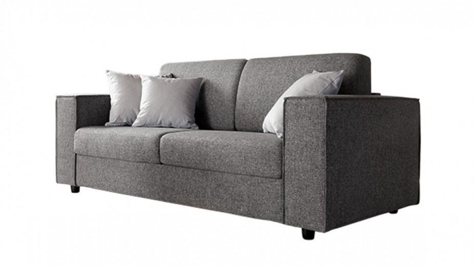 Canapea extensibila 3 locuri tapitata cu stofa Bolero, l228xA95xH85 cm