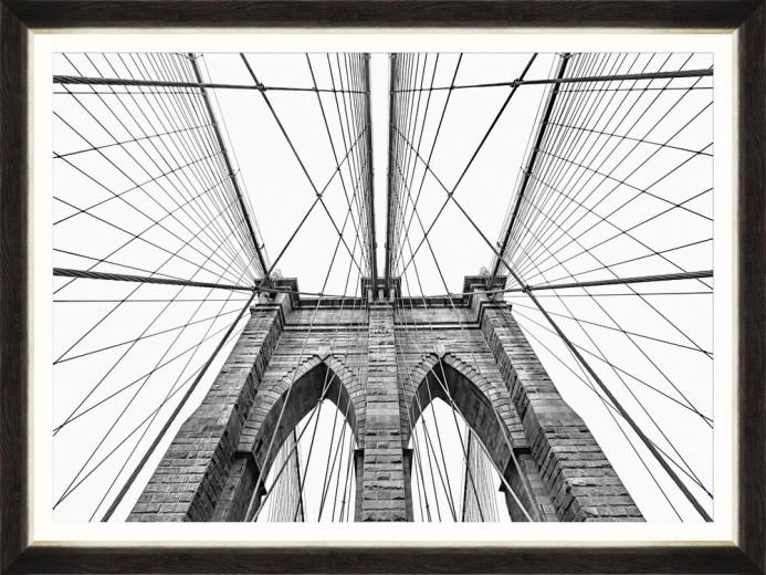 Tablou Framed Art Brooklyn Bridge Detail