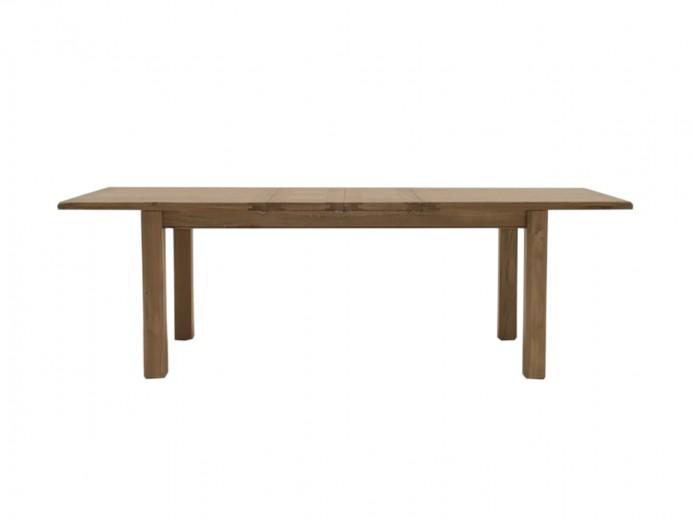 Masa extensibila din lemn de stejar si furnir Breeze Oak, L180-246xl90xH77 cm