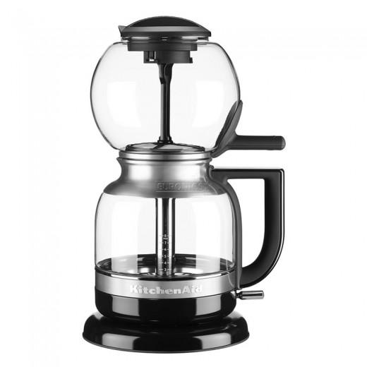 Cafetiera electrica Siphon 5KCM0812EOB, 1 L, 1440W, KitchenAid