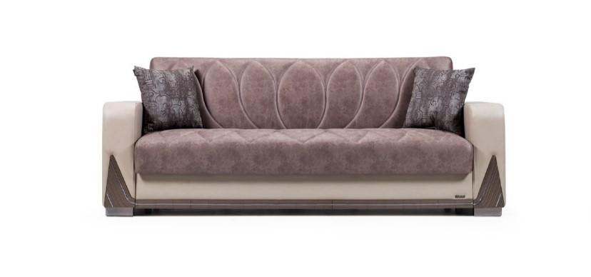 Canapea extensibila cu lada de depozitare, 3 locuri Bugatti, l230xA80xH90 cm