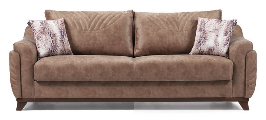 Canapea extensibila cu lada de depozitare, 3 locuri Amber Maro K3, l242xA96xH85 cm