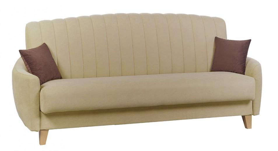 Canapea extensibila tapitata cu stofa, 3 locuri Caya, l220xA100xH82 cm