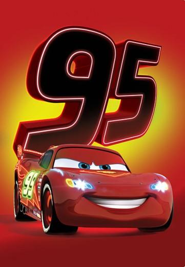 Covor Disney Kids Cars Smile 018, Imprimat Digital